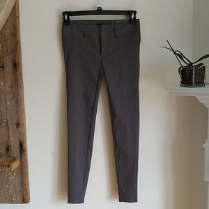 Maurices gray smart skinny pant short 0